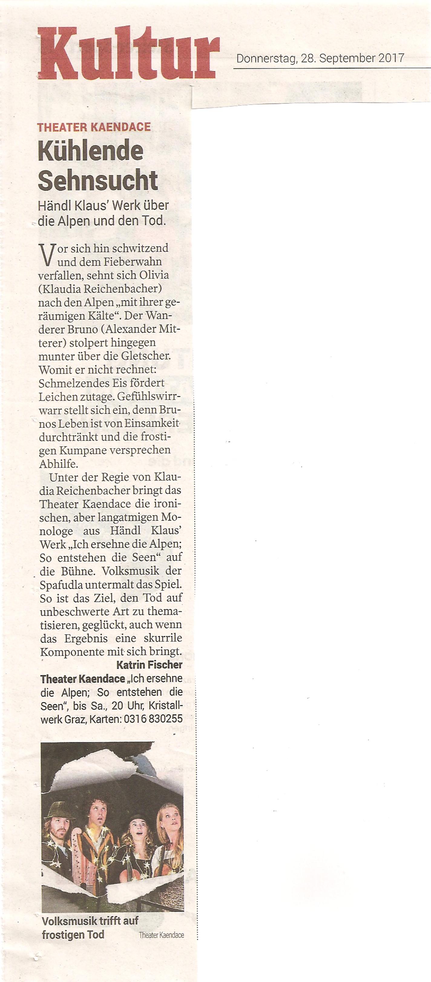 KleineZeitung_Kritik_Alpen